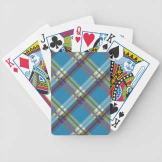 Plaids, Checks and Tartans in Till Bicycle Playing Cards