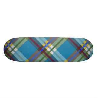 Plaids, Checks and Tartans in Till Skateboard Deck