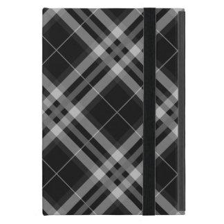 Plaids, Checks, Tartans Black And White Cover For iPad Mini