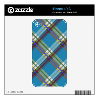 Plaids, Checks, Tartans Till Decal For The iPhone 4