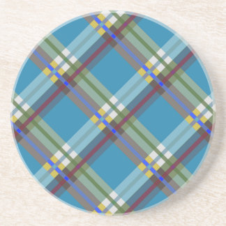 Plaids, Checks, Tartans Till Drink Coaster