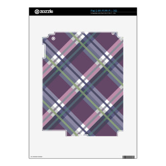 Plaids, Checks, Tartans Wine Decal For The iPad 2