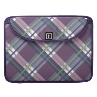 Plaids, Checks, Tartans Wine Sleeve For MacBook Pro