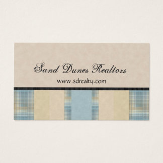 Plaids & Solids Business Card