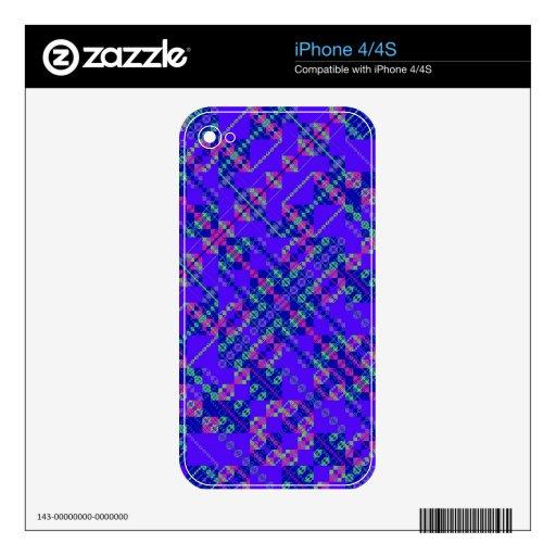 PlaidWorkz 108 iPhone 4S Decal