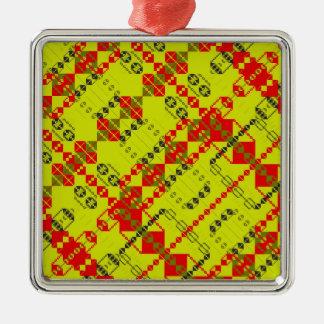 PlaidWorkz 124 Metal Ornament