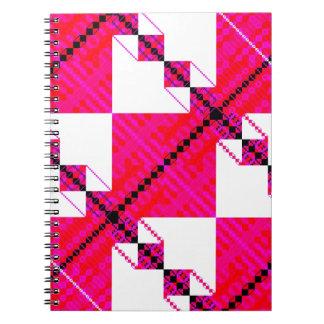 PlaidWorkz 15 Libro De Apuntes Con Espiral