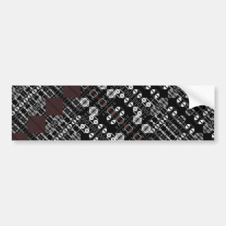 PlaidWorkz 27 Bumper Sticker