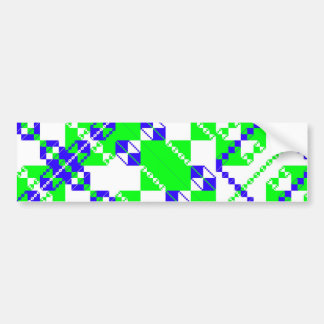 PlaidWorkz 52 Bumper Sticker