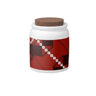 PlaidWorkz 80 Candy Jar