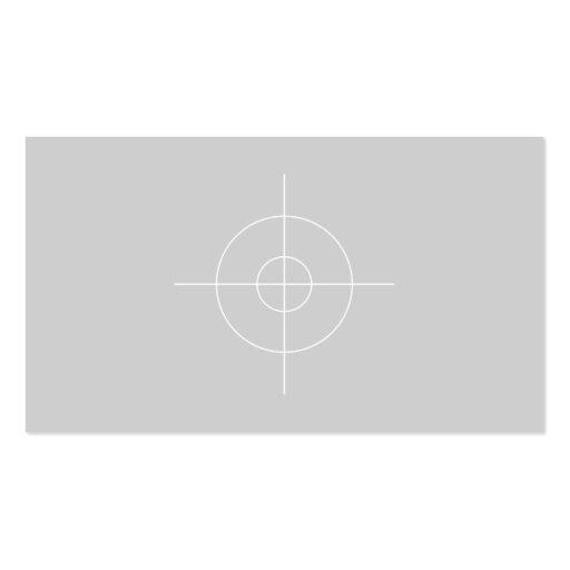 Plain 18% Gray Card Photography Business Card