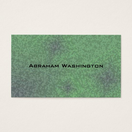 Plain and Simple Business Card  - Water