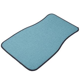 Plain Beatnik Blue color Car Mat