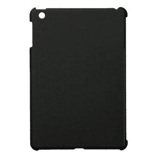Plain Blank Black Grey DIY add quote text photo iPad Mini Cover
