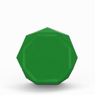 Plain Blank Green DIY template add text photo quot Award