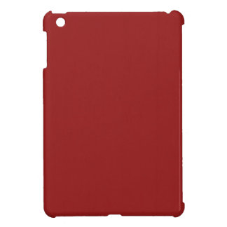 Plain Blank Red Shades DIY add text quote photo iPad Mini Covers
