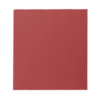 Plain Blank Red Shades DIY add text quote photo Notepad