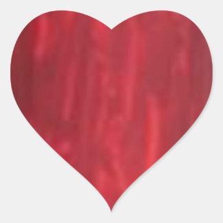 Plain BloodRed Blood Red  shades Heart Sticker