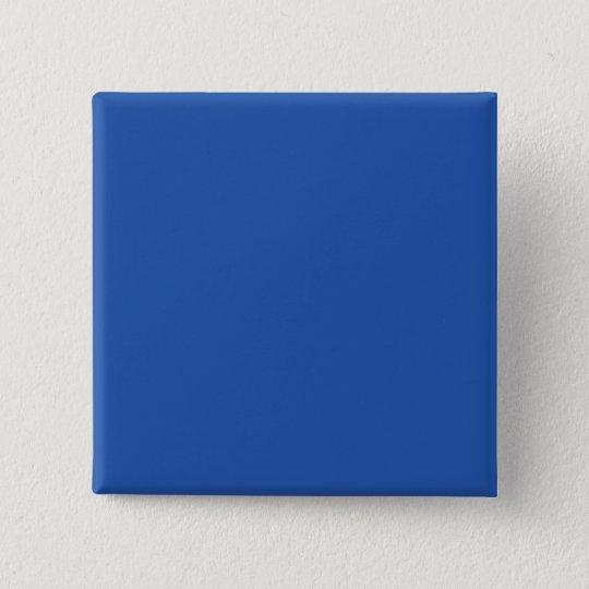 Plain Blue Background. Pinback Button