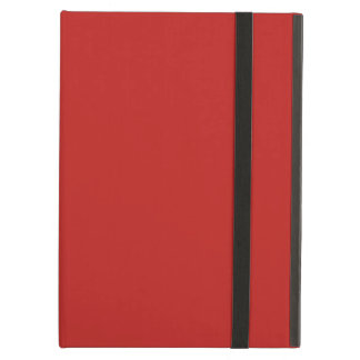 Plain Brite Red color Case For iPad Air