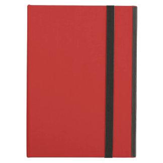 Plain Brite Red color iPad Air Cover