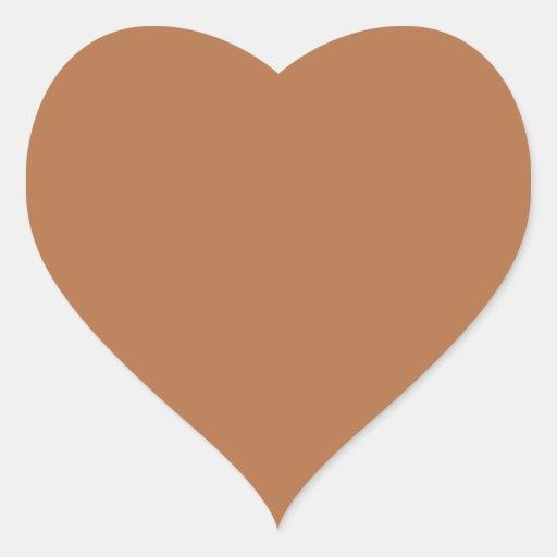 Plain Brown Background. Sticker
