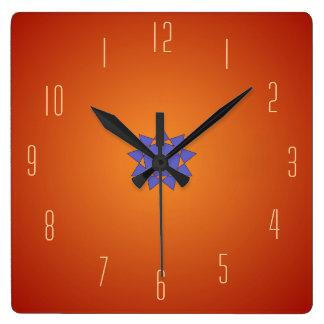 Plain Burnt Orange > Kitchen Clocks