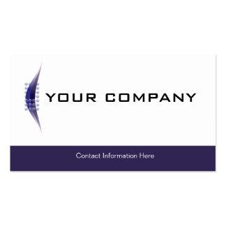 Plain Business Card Logo Blue