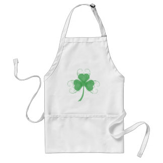 Plain But Fancy Shamrock Products Adult Apron