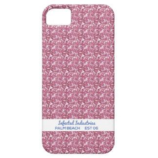 Plain but not so Plain Pink Glitter iPhone SE/5/5s Case
