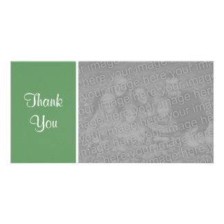 Plain Color II - Thank You - Army Green Card