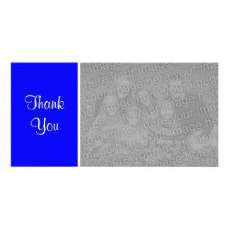 Plain Color II - Thank You - Blue Card