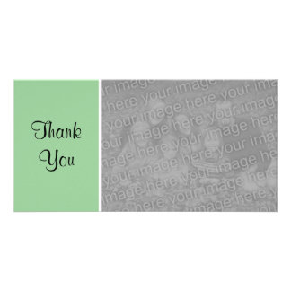 Plain Color II - Thank You - Faded Green Card