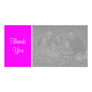 Plain Color II - Thank You - Magenta Card