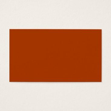 Professional Business Plain Color Peach Orange Business Cards Colors 4