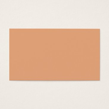 Professional Business Plain Color Peach Orange Business Cards Colors 6
