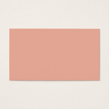 Professional Business Plain Color Peach Orange Business Cards Colors 8
