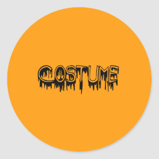 PLAIN COSTUME SLIME - Halloween -.png Stickers