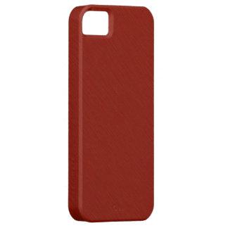 Plain Dark Red Background iPhone SE/5/5s Case