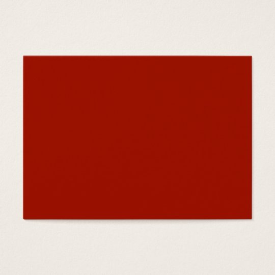 Plain Deep Red Background. Business Card