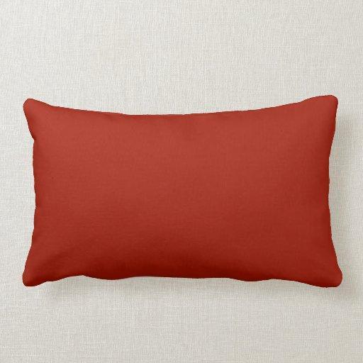 Plain Deep Red Background. Pillows