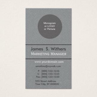 Plain Distressed Polka Dot Custom Design Business Card