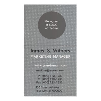 Plain Distressed Polka Dot Custom Design Double-Sided Standard Business Cards (Pack Of 100)