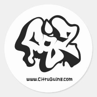 Plain Grafiti CQZ Sticker