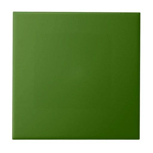 Plain Green Tile