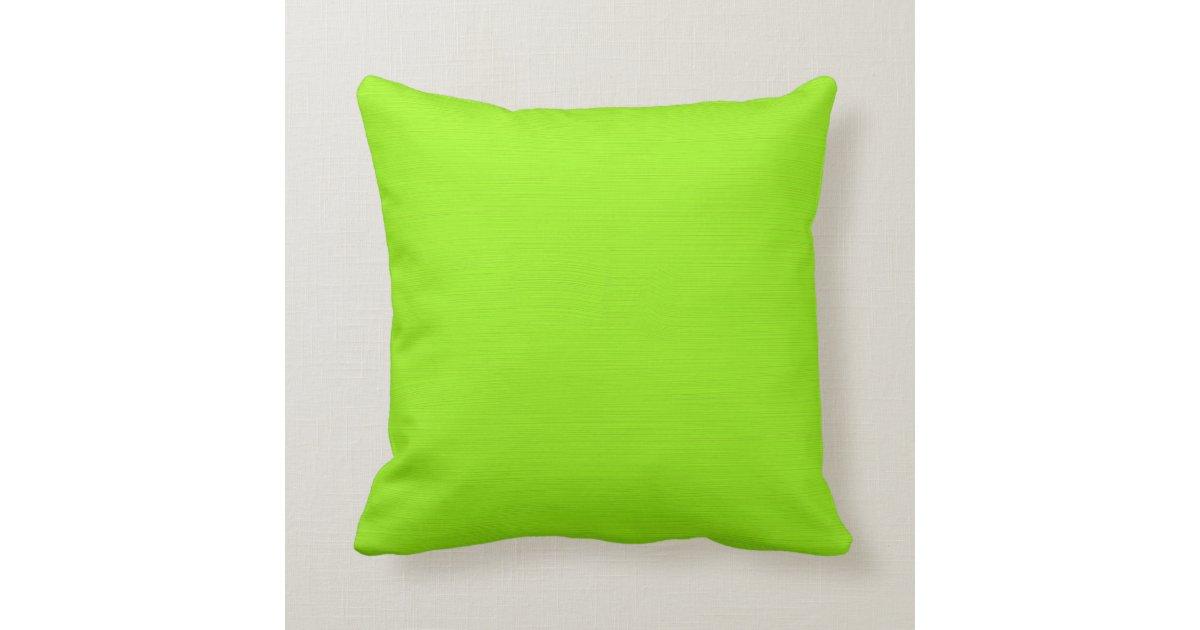 Plain green yellow lime background throw pillow zazzle - Plain green background ...
