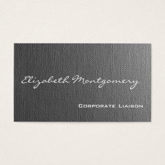 Plain Grey Modern Professional Business Cards