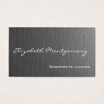 Professional Business Plain Grey Modern Professional Business Cards