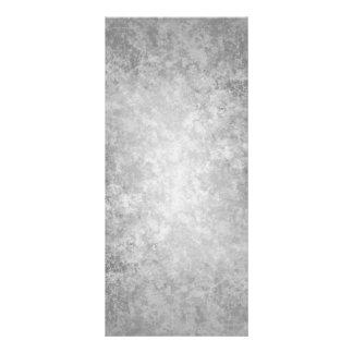 Plain grungy gray background rack card