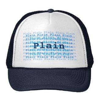 Plain Hat.. Trucker Hat